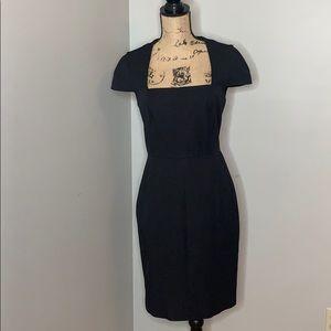 Banana Republic Sloan Dress, black size 8